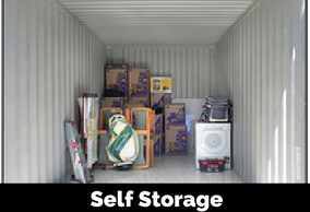 Container and self storage sheds